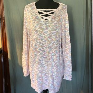 Lb long tunic sweater. 14/16.exc condition